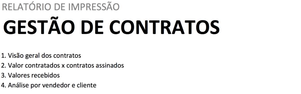gestão de contratos - impressão
