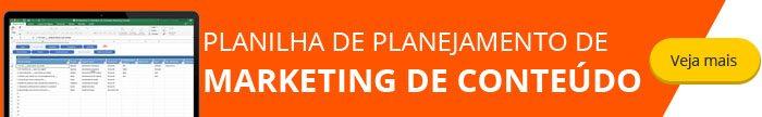 Planilha de Planejamento de Marketing de Conteúdo