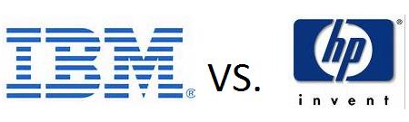 IBM vs HP - Diferentes posicionamentos para influências de compra
