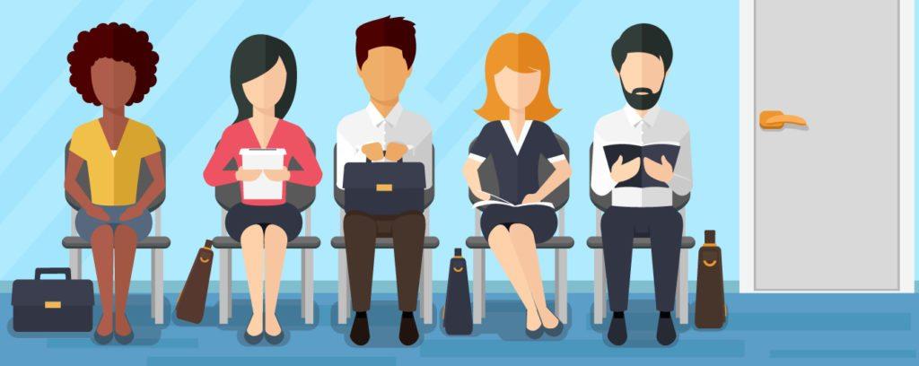 recrutamento e seleção - lista de espera