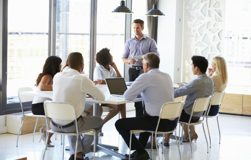 reuniões de acompanhamento de vendas