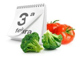 organizar dia de trabalho com alimentação