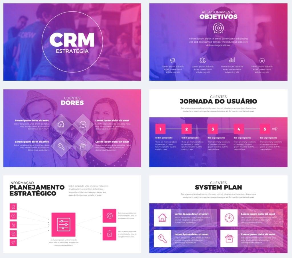 Apresentação de CRM