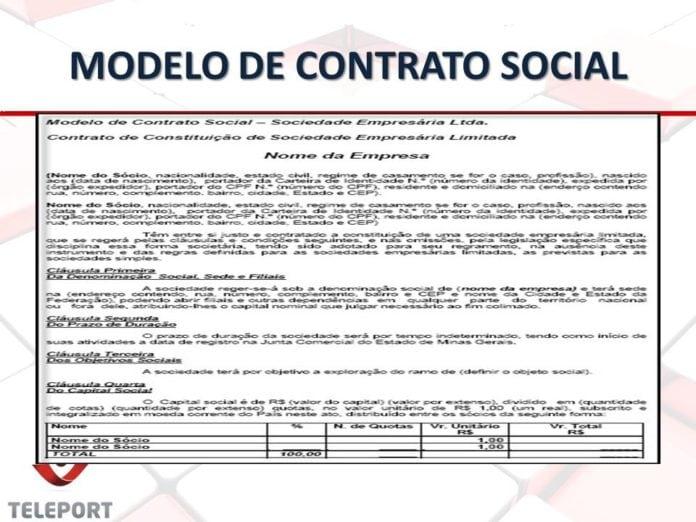 O que é Contrato Social