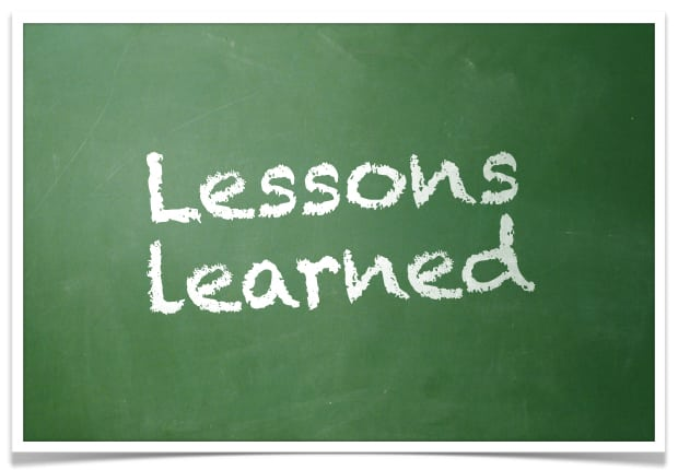 Lições Aprendidas