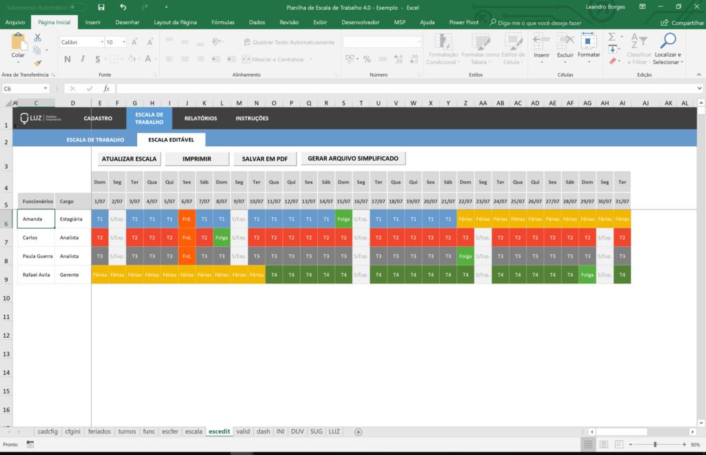 10 Accounting und Buchhalter Arbeitsblätter in Excel - Blog LUZ