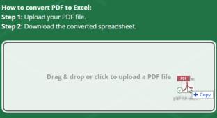 Como Converter PDF para Excel Online Gratuitamente