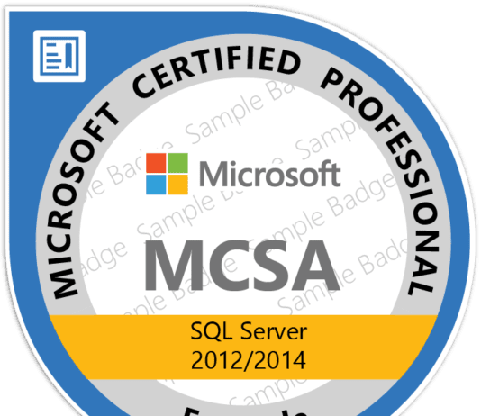 The Journey of Becoming Microsoft MCSA Productivity Solutions Expert
