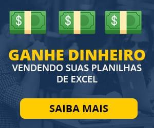 Ganhe dinheiro vendendo suas planilhas de Excel